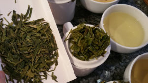 Photo: Cupping tea explores the relationship between how the tea was made and the results of that technique in the infused cup itself.