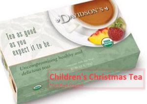 Davidson's Children's Tea