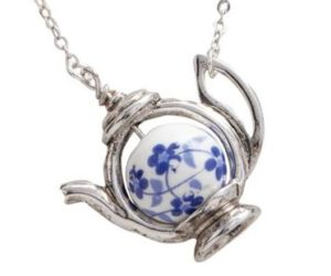 Blue Willow Necklace