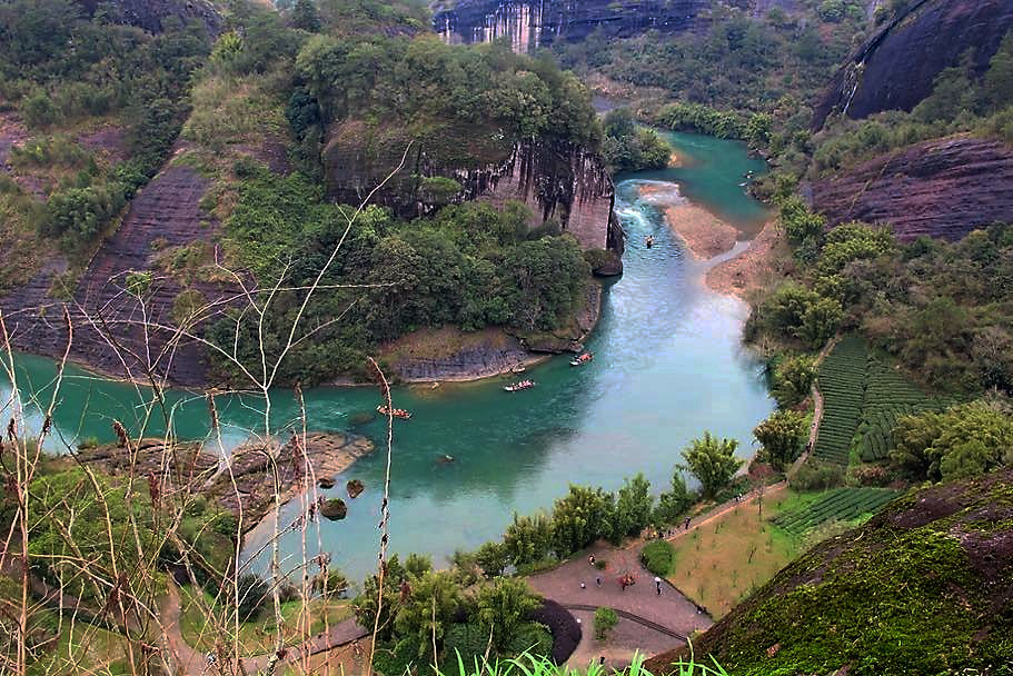 The Bend Wuyi River.