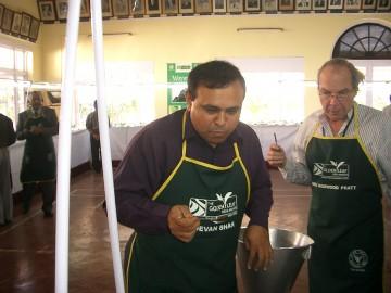 Tea cupping judges