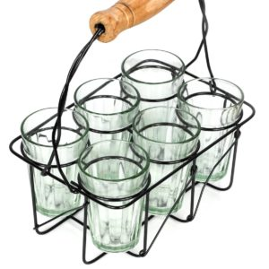 Chai Cups and Rack