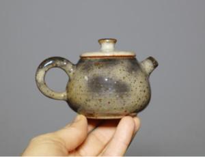 Grey Shino Teapot