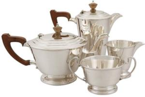 AC Silver | Art Déco Sterling Silver Tea Set