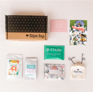Sips by | Mother's Day Tea Party Box