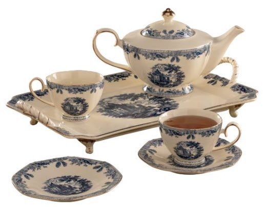Victorian Trading Co Country Manor Tea Set