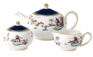 Wedgwood| Blue Pagoda Tea Set