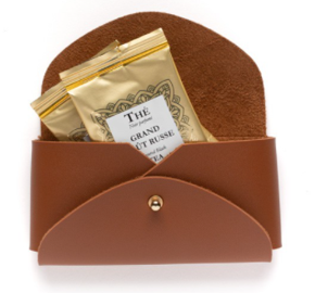 Dammann Frères | Camel tea bags travel holder